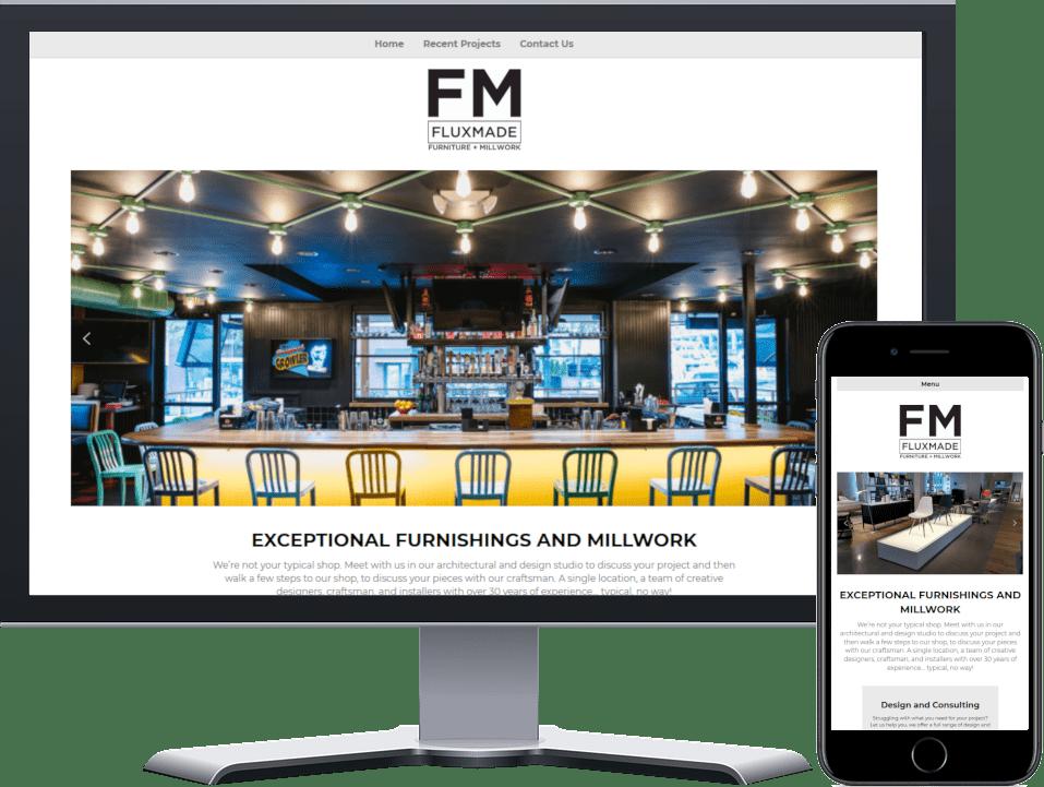 Flux Made Website