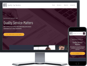 Quality Tax Service Website