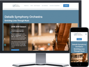 DeKalb Symphony Orchestra Website