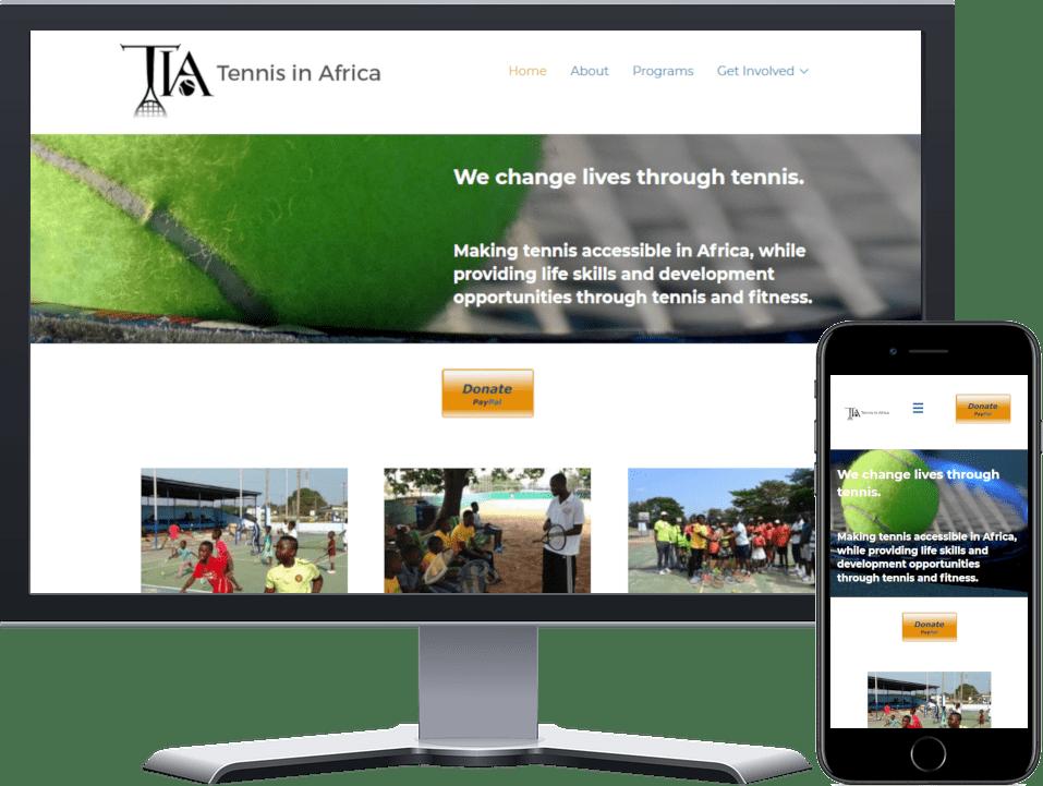 Tennis In Africa Website