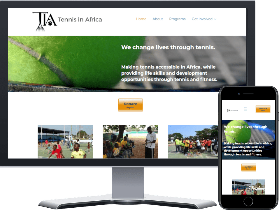 Tennis In Africa Website